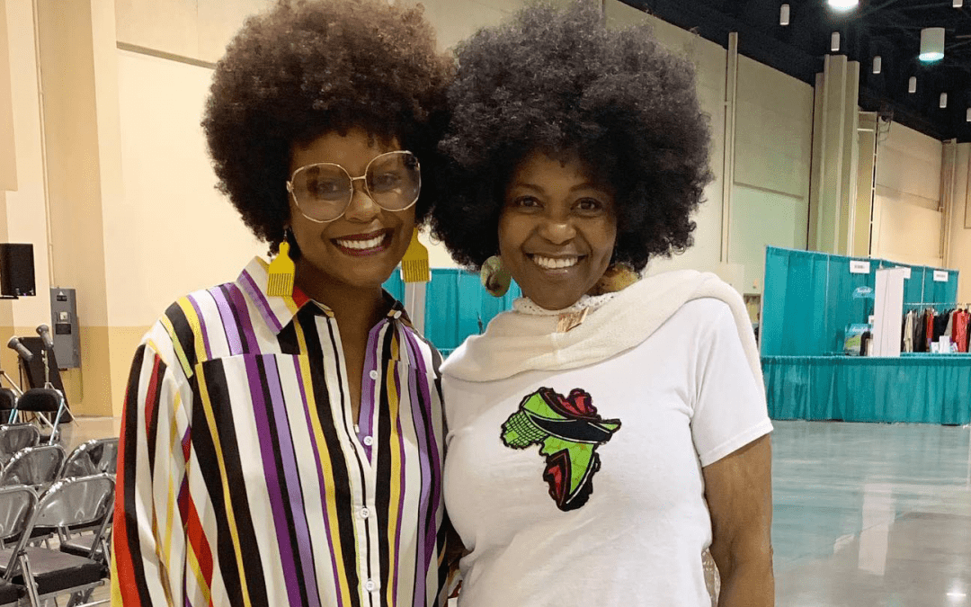 Tabitha Brown with Pat at Success Women's Conference 2019